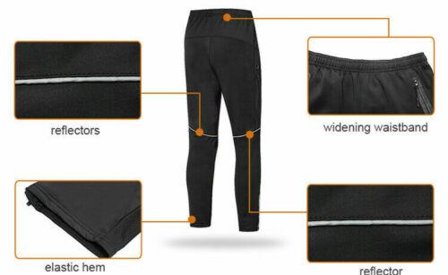 Herren Radhose Thermo Lange Hosen Fahrradstrumpfhose Thermal Cycling Pants Mens