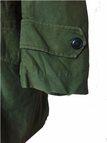 XS S M L NATO Issued Vintage U.S Army M51 Green Military Parka Jacket