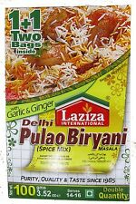 Laziza Delhi Pulao Biryani x 6 packets (Spice mix for biryani)