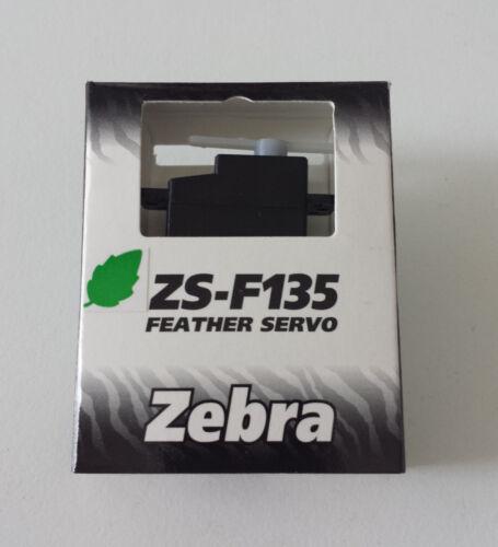 leicht /& dennoch kraftvoll Micro FEATHER schnell Servo Zebra ZS-F135-8g