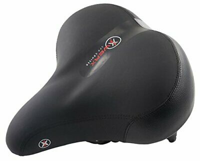 XWERX Most Comfortable Bicycle Seat Memory Foam Bike Saddle Suspension Safety