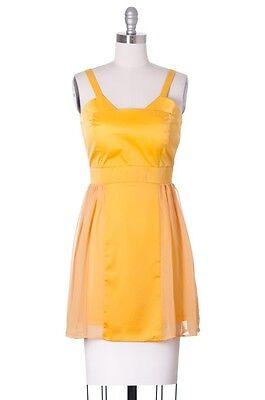 Goodbye Yellow Brick Road Dress, Modcloth, Ruche Style, Sundress, Casual, Cute