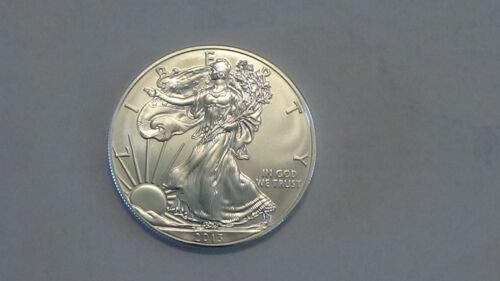 Uncirculated 2013 U.S Silver Eagles From my Dad/'s Estate.