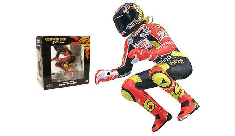 Minichamps Valentino Rossi Riding Figurine Imola GP 250 1998 - 1 12 Scale