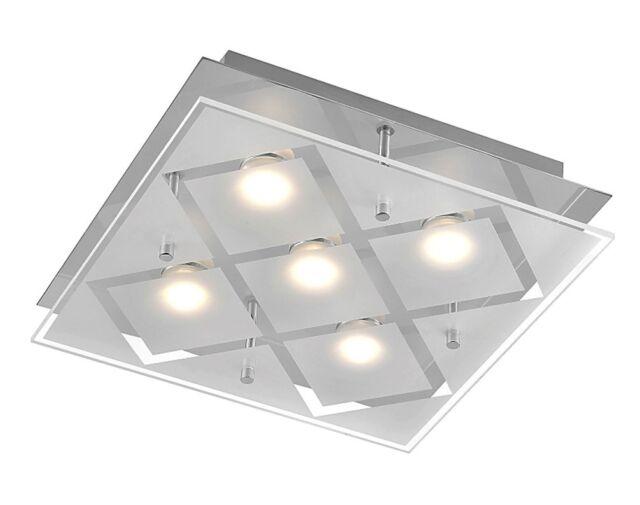 Luz Led Complex 5 Focos Von Luces Directo 11772-17 Cromado 5 X 200 Lm