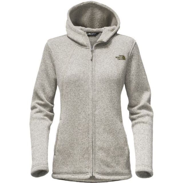 6590d3e4ab05 The North Face Women Crescent Full Zip Hoody (S) Vintage White Heather