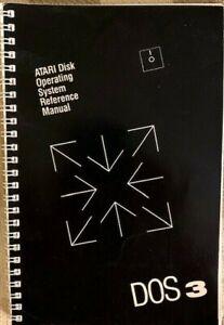 DOS 3 Atari Disk Operating System Reference Manual & Errata Sheet 1983 [a-1]