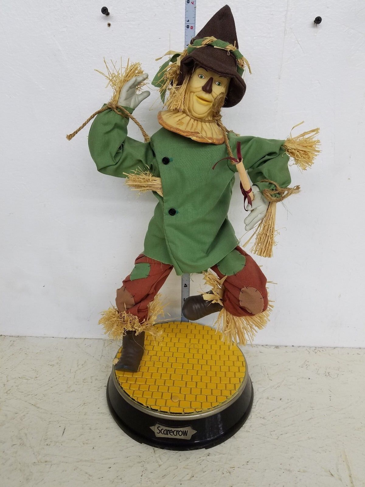 Gemmy Animated Wizard of Oz Scarecrow LOOSE
