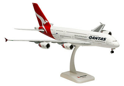 Qantas Airways Airbus A380-800 1:200 Hogan Wings Modell 380 A380 NEU 1202 Gear