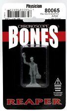 Reaper Miniatures Occult Investigator Physician #80065 Bones Unpainted Plastic