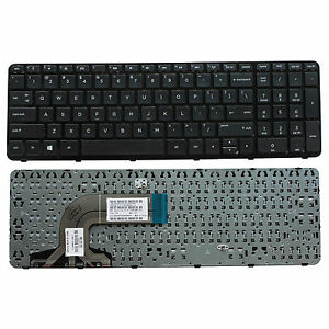 NEW Laptop US Keyboard with Frame For HP 15-f085wm 15-f097nr 15-f098nr 15-f125wm