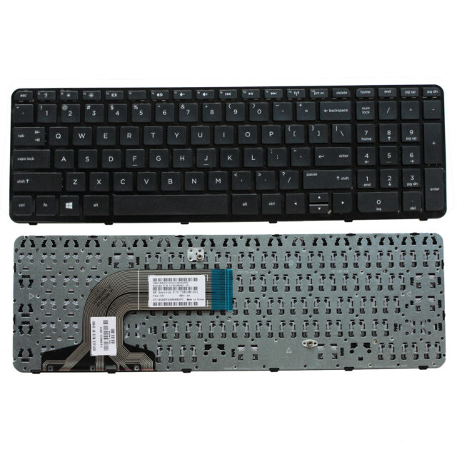 OEM Laptop US Keyboard with Frame For HP 15-f233wm 15-f240ca 15-f247nr 15-f271wm