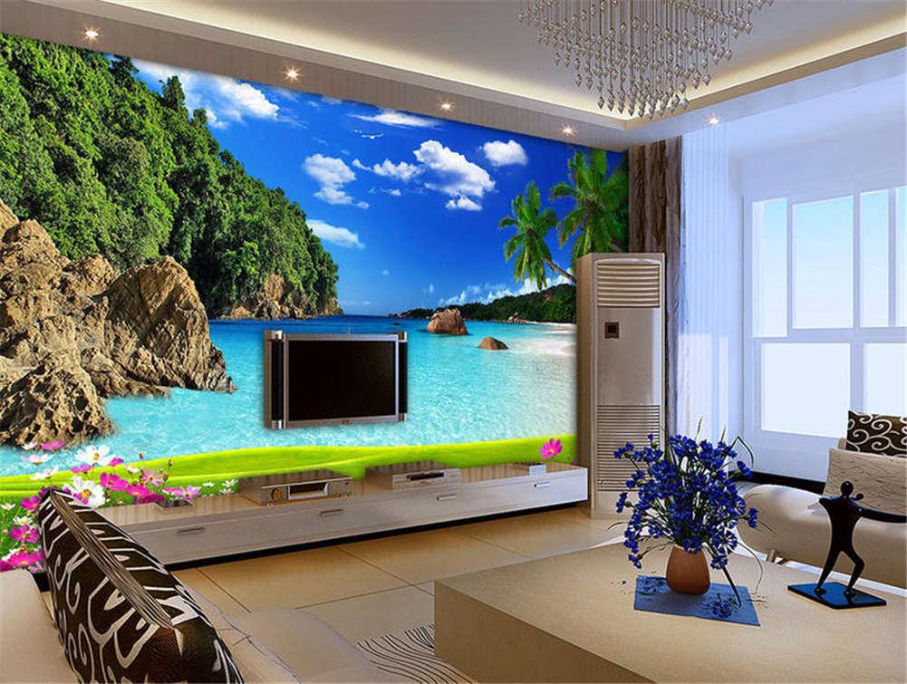 Lyric Marital Water 3D Full Wall Mural Photo Wallpaper Printing Home Kids Decor