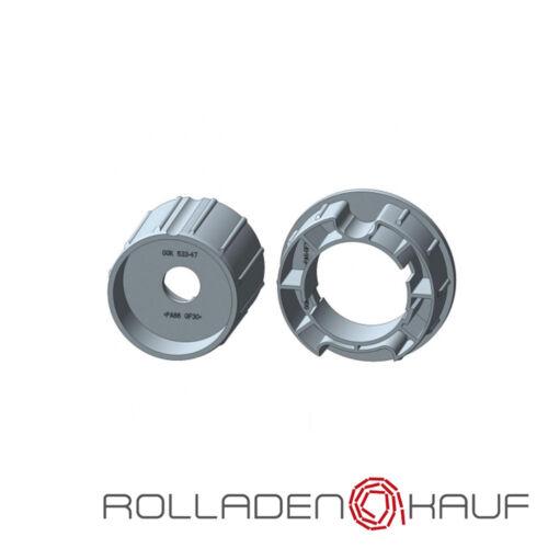 Rademacher Adaptersatz Nutwelle 63mm RTIM RTFM RSIM XLIM RSFM XLSM Rolladen