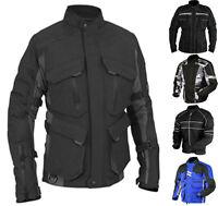Classic Men's Cordura Armour Biker Waterproof Motorbike Motorcycle Jacket