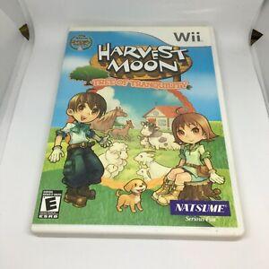 Harvest Moon: árbol de tranquilidad (Nintendo Wii, 2008) COMPLETO NTSC-U/C