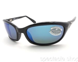 a2999e01bd Image is loading Costa-Del-Mar-Harpoon-HR11OBMGLP-Black-Sunglasses-580G-