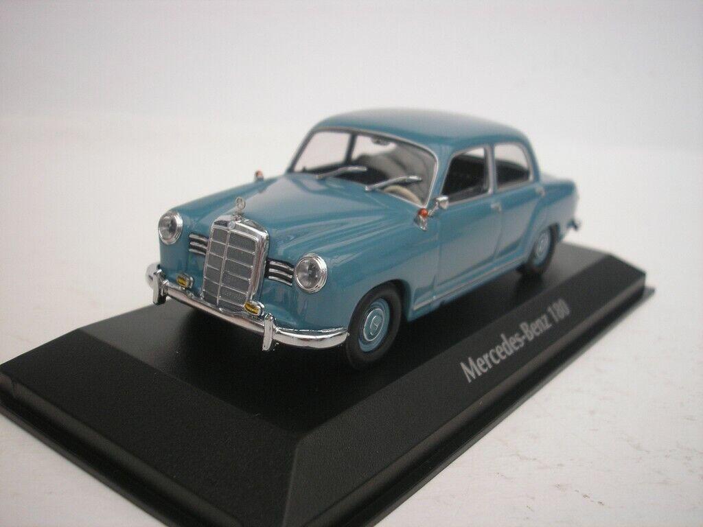Mercedes Benz 180 1955 Azul 1 43 maxichamps 940033102 Nuevo