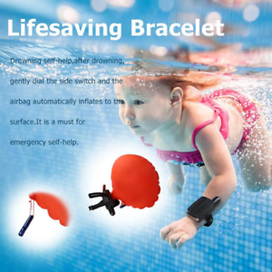 Original Free Drowning Big Bracelet Floating Swimming Adult /& Child Safety Wow!!