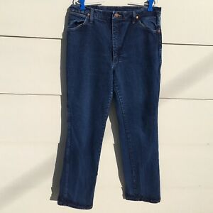 Wrangler-Jeans-Cowboy-Blue-947STR-Mens-Tag-36-X-32-Measures-34-x-32