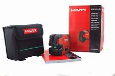 Hilti PM 2-LG Green line laser Hilti laser level Included Magnetic Pivot Bracket
