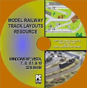 MODEL-RAILWAY-TRACK-LAYOUTS-COLLECTION-PCCD-1000-039-S-OF-PLANS-ALL-GAUGES-SCALE-NEW