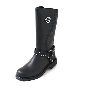 Details zu Harley Davidson Stiefel D87018 Damen Boots Aimee schwarz Gr.37 Abverkauf