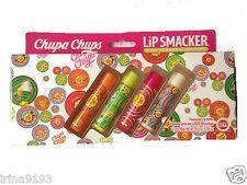 Chupa Chups 4 X Lip Smackers Flavoured Lip Balm Gift Set Boxed