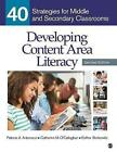 Developing Content Area Literacy: 40 Strategies for Middle and Secondary Classrooms by Catherine M. O'Callaghan, Esther Berkowitz, Patricia A. Antonacci (Paperback, 2014)