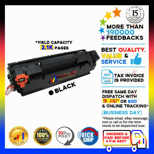 2x NoN-OEM CE278A 78A Toner Cartridge for HP Laserjet M1536dnf P1566 P1606dn