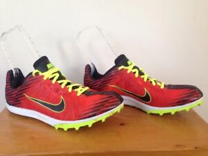 f2ed3b6bb749 Nike Zoom Victory Waffle XC Track Shoe Sneaker 526317-607 Yellow Red ...