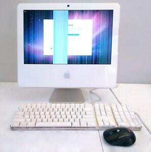 Apple iMac 17-In (2006 Core 2 Duo MA590LL) 1GB RAM, 160GB HDD, - Screen Faulty