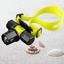 6000Lm CREE XM-L T6 LED Diving Zoom Headlamp Headlight Waterproof Light Torch MT