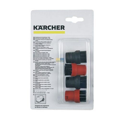 4x ORIGINAL Aufsatzdüse Rundbürste Dampfreiniger Kärcher 2.863-058.0