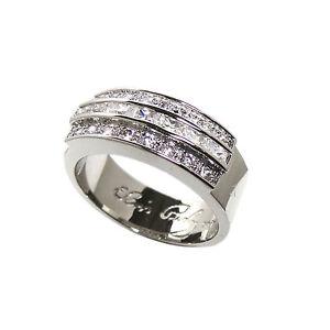 Elvis Presley Wedding Ring With Swarkovski Crystals Ebay