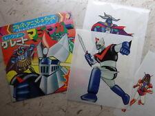 IL GRANDE MAZINGA LP 33 & ANIME CEL GREAT MAZINGER ROBOT DISCO VINILE JAPAN