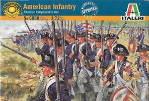 Italeri-American-Revolution-1775-1783-American-Infantry-1-72-Scale-No-6060