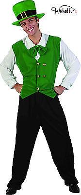 Señoras para mujer hombre Disfraz de fiesta de celebración del Día de San Patricio Disfraz de estilo irlandés *
