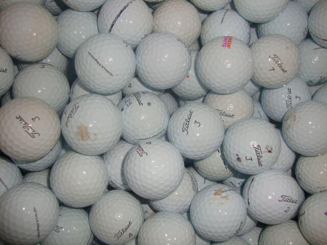 100 TITLEIST PRO V1 GOLF BALLS