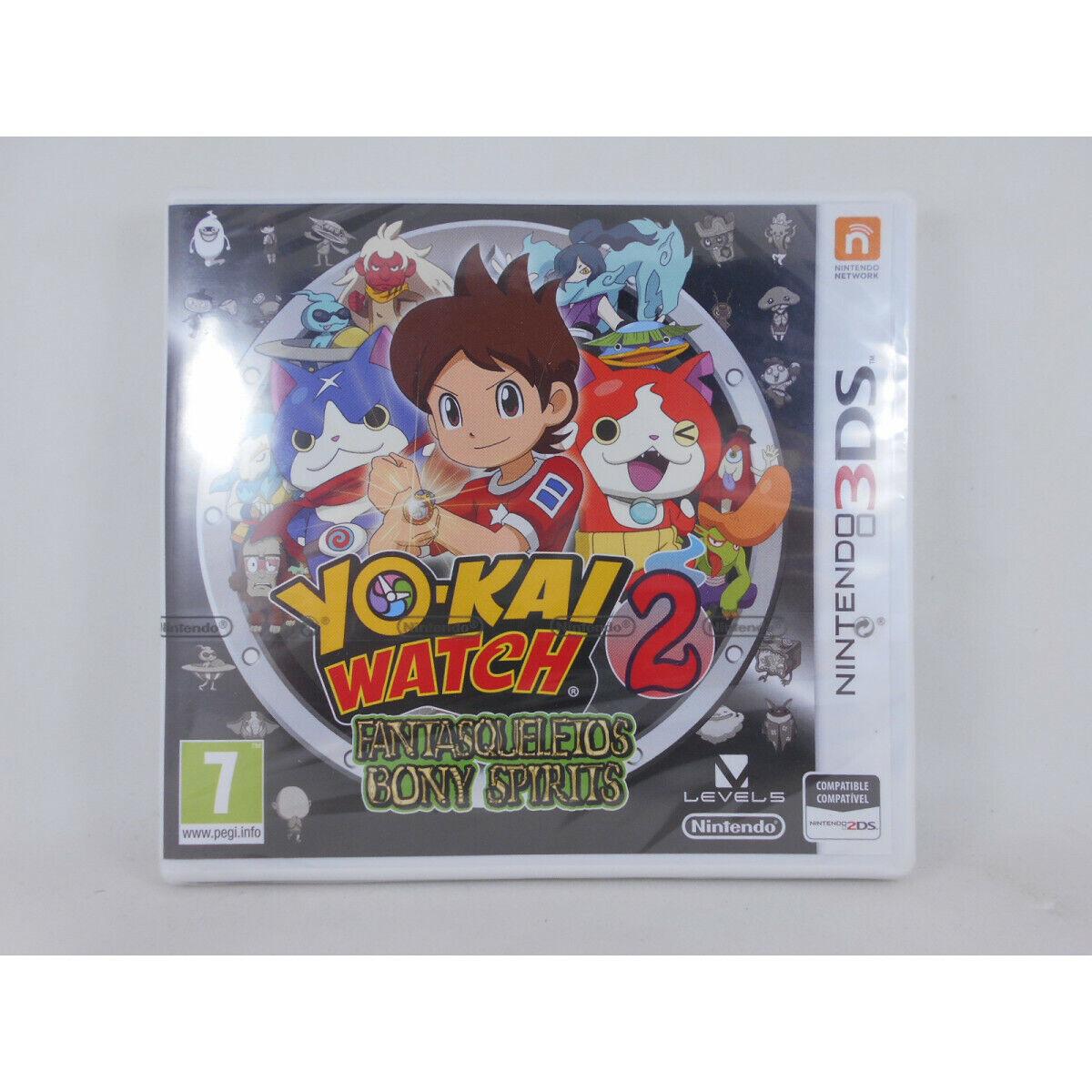 Yo-Kai Watch 2 Fantasqueletos/Bony Spirits - Nintendo 3DS - Nuevo a Estrenar...