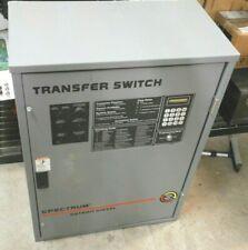 Detroit Diesel Spectrum Generator Transfer Switch 80 Amp Rls 566341 0080