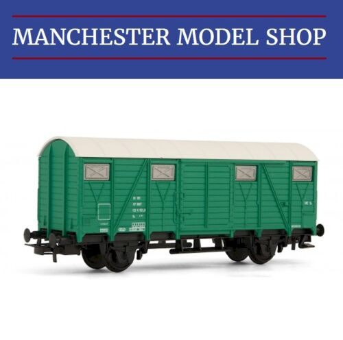 Jouef Junior HJ6107 HO 1:87 Closed wagon 2 axles green livery SNCF NEW BOXED