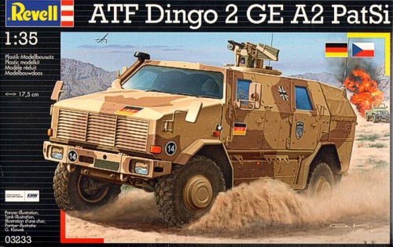 Revell ATF Dingo 2 GE A2 Patsi Model Kit 3233
