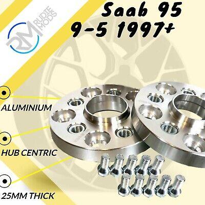 Saab 20mm Espaciador rueda Espaciador par 65.1mm 5x110 ver listado
