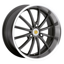 genius darwin 15x6 5 3x112 22mm gunmetal mirror wheel rim ebay
