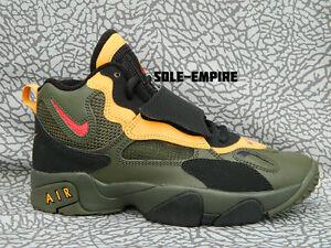 Nike-Speed-Turf-GS-535735-368-Deion-Sanders-Olive-Cargo-Khaki-Red-Black-Yellow
