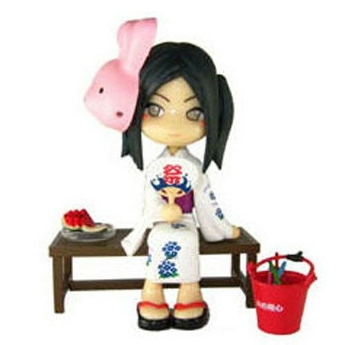 Pinky:st Street PC002A Yukata Sitting Pose Version Vinyl Toy Figure Anime Japan