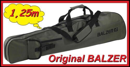 Balzer 1,25m Rutenfutteral Rutentasche 125cm Groß für 3-5 Ruten Kescher NEW OVP