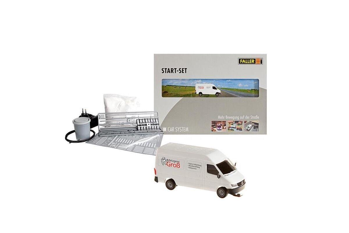 Faller 161504 HO 1 87 Kit de démarrage Car System MB Sprinter