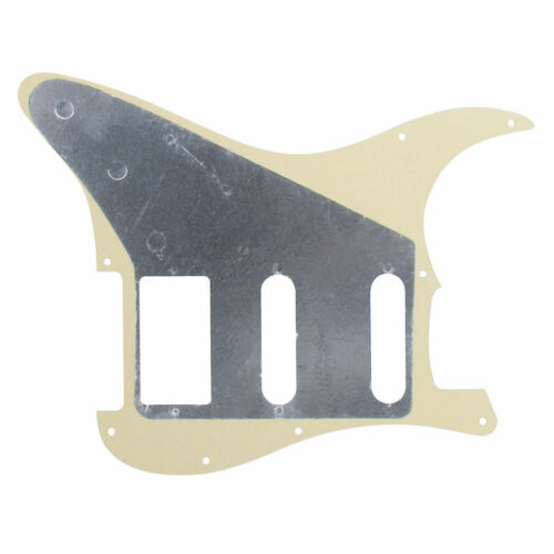 Neu Pickguard Stratocaster HSS Cremefarben für Gitarre Strat